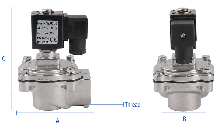 Bag Filer solenoid valve