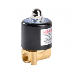 Miniature Solenoid Valve Water Brass Electric Valve 1/4 inch