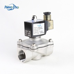 1 Inch Stainless Steel Solenoid Valve